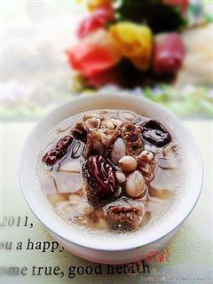 薏米红枣排骨汤