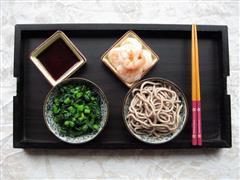 鲜虾荞麦凉面