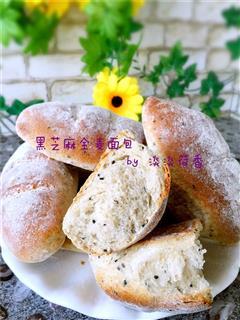 黑芝麻全麦面包
