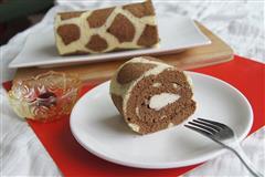 长颈鹿戚风蛋糕卷