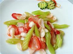 西芹百合炒草莓