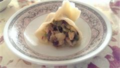 韭菜虾仁饺子