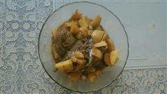 鲅鱼炖土豆