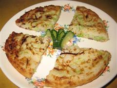 西葫芦素饼