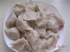 鲜肉西葫芦水饺
