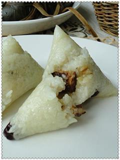 金丝枣腊肉粽子