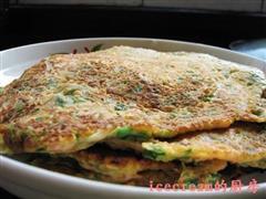 西红柿鸡蛋煎饼