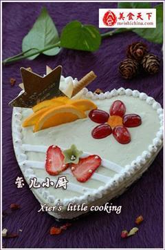 华丽版慕斯蛋糕