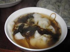 韭菜鲜肉小馄饨