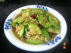 虾米炒西葫芦