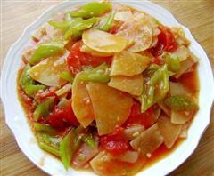 番茄尖椒土豆片