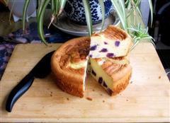 紫薯酸奶戚风蛋糕