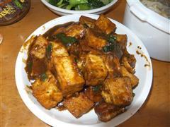 菜鸟级麻婆豆腐