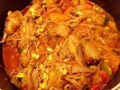 韩式炒辣鸡汤