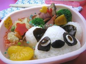 熊猫爱心小便当