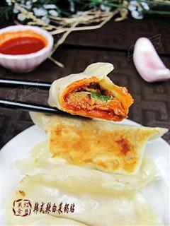 韩式辣白菜锅贴