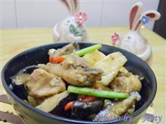 山药香菇鸡