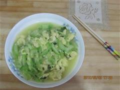 西葫芦煸鸡蛋