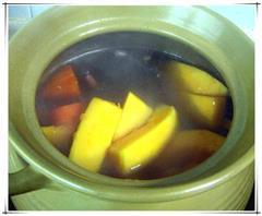 木瓜花生骨头汤