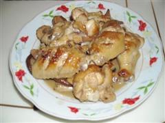 香菇红烧鸡翅