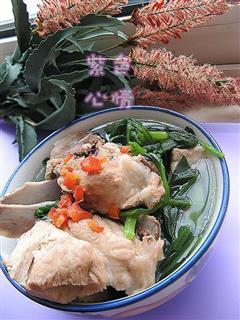 排骨菠菜汤