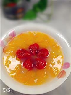 米酒橘子甜汤