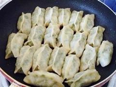 韭菜猪肉锅贴