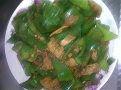 青椒尖椒炒肉