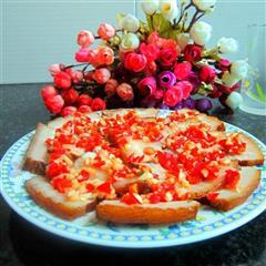 尖椒蒜米五花肉