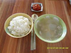 松茸冬瓜排骨汤