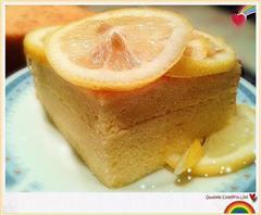 柠檬枫糖戚风蛋糕