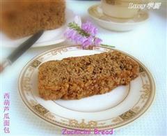 西葫芦瓜面包