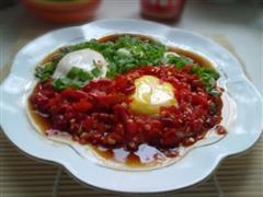 剁椒荷包蛋
