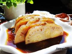 桂花蜜汁糯米藕