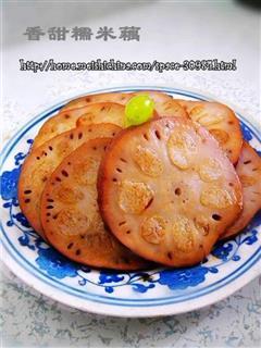 香甜糯米藕