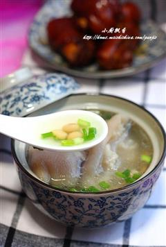 猪蹄黄豆汤&红烧猪蹄