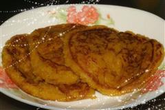 椰香南瓜软饼