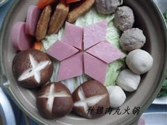 什锦肉丸砂锅煲