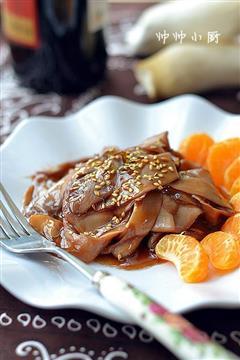 芝麻红酒杏鲍菇