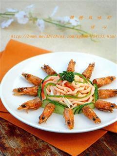 锦绣双味虾