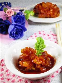 茄汁萝卜花