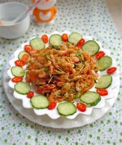 香辣蛋酥虾
