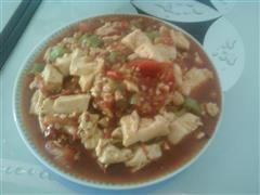 番茄麻婆豆腐