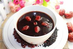 黑米红豆红枣粥