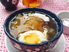 红枣银耳荷包蛋
