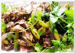 芦笋洋葱孜然羊肉