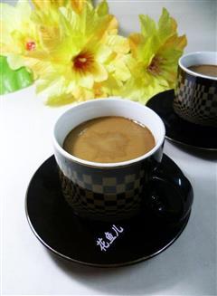 咖啡鸡蛋羹