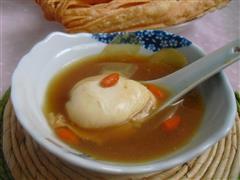 姜糖水煮荷包蛋