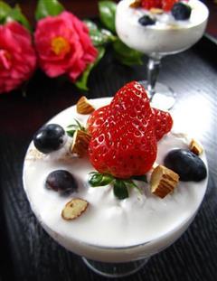 酸奶水果杯