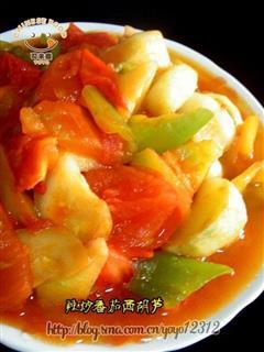 辣炒番茄西葫芦